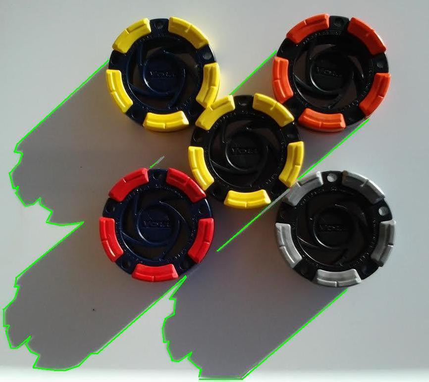 DFX™ Inline Hockey - Roller Hockey Pucks (5-Pack)