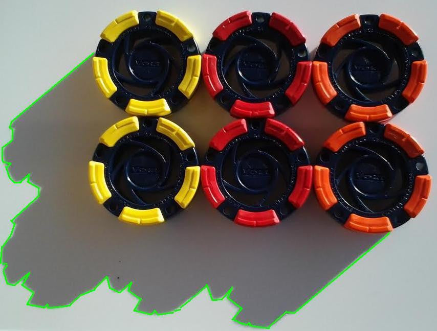 DFX™ Inline Hockey - Roller Hockey Pucks (6-Pack)