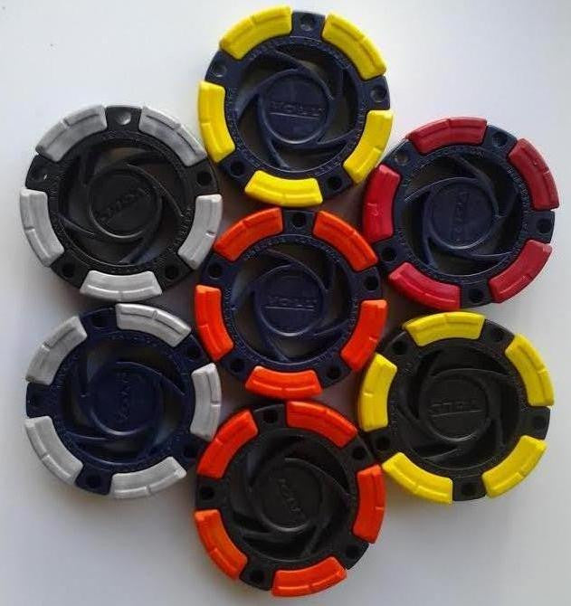 DFX™ Inline Hockey - Roller Hockey Pucks (7-Pack)