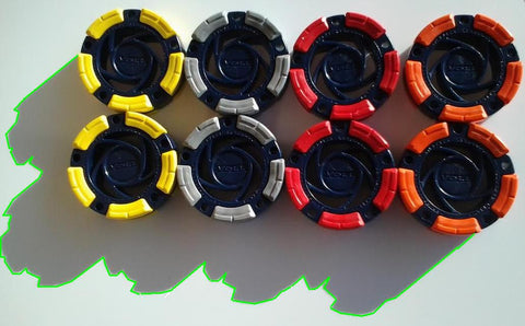DFX™ Inline Hockey - Roller Hockey Pucks (8-Pack)