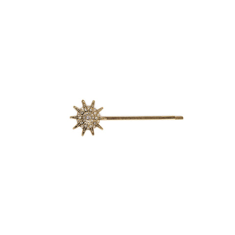 Petit Stargazer Hair Pin Gold