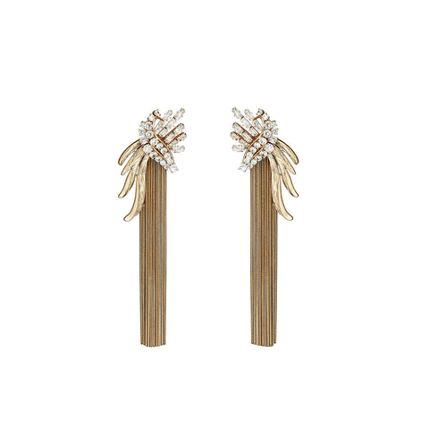 Zephyr Earrings Gold