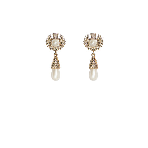 Enigma Earrings Gold