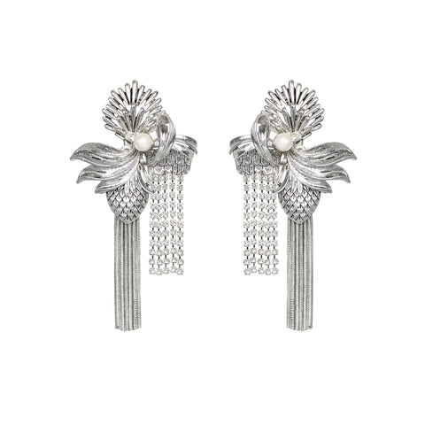 Nirvana Earrings Silver