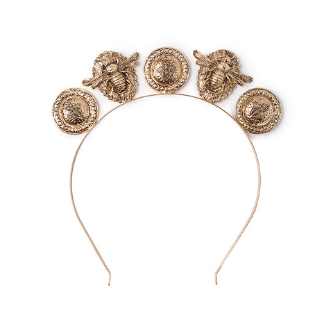 Verona Headpiece Gold