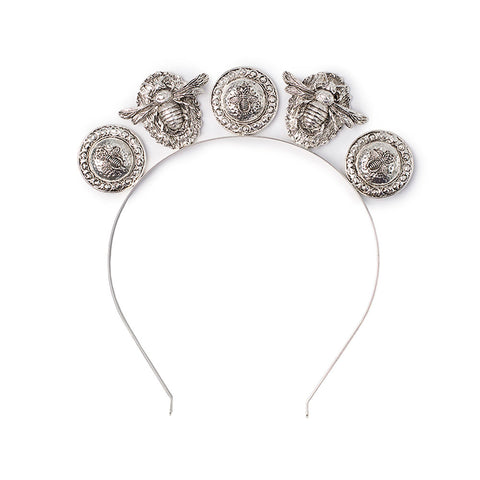 Verona Headpiece Silver