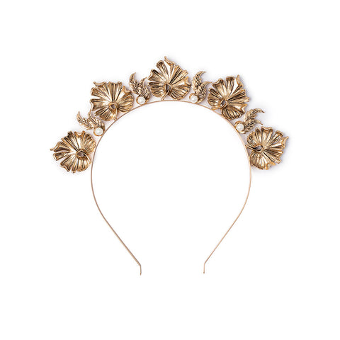 Lotus Headpiece Gold