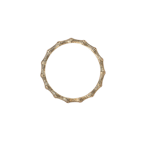 Bambu` Bangle Gold