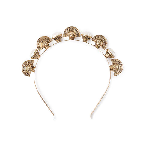 Crypt Headpiece Gold