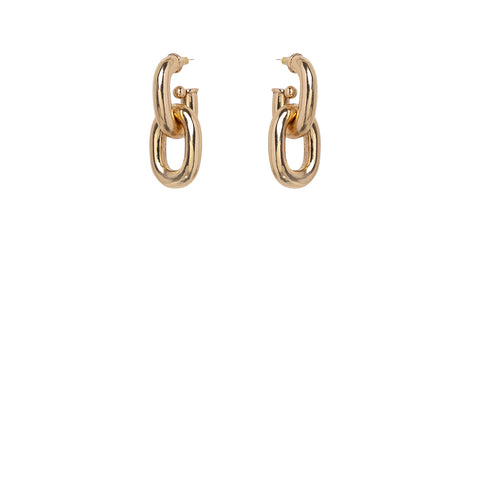 Connextion Earrings Gold