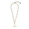 Heirloom Fob Necklace Gold