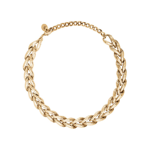 Madera Necklace Gold