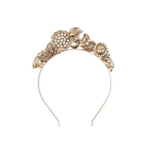 Mariposa Headpiece Gold