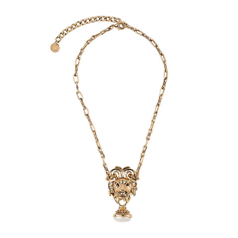 Panthera Necklace Gold