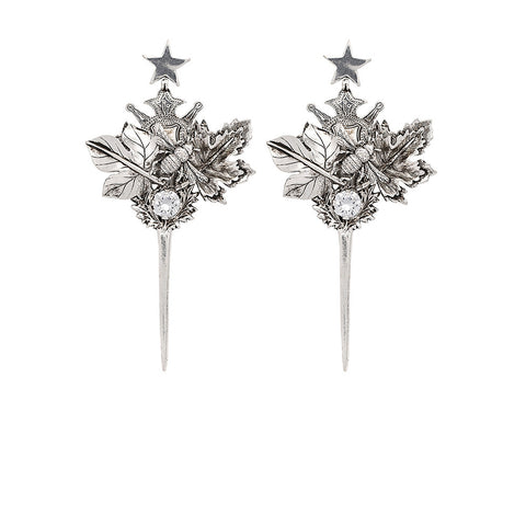 The Jester Earring - Silver
