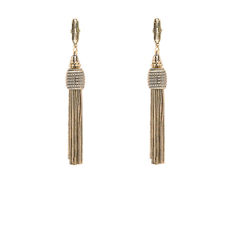 The Lavish One Earring - Gold