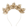 The Midnight Crown Headpiece - Gold