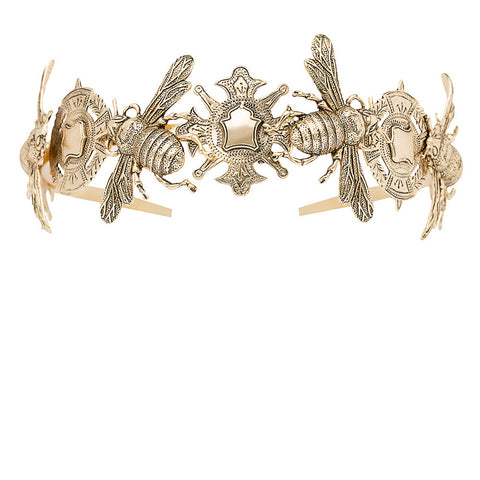 The Queen Bee Headpiece -Gold