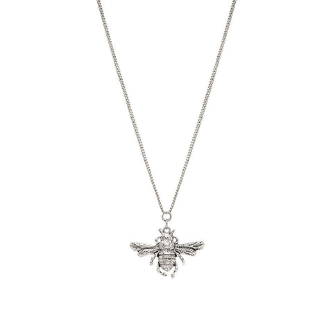 The Royal Whisperer Necklace - Silver