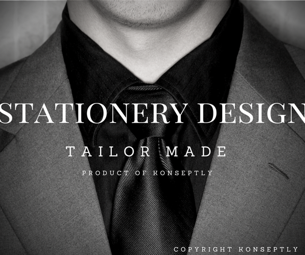 Stationery Design - Konseptly Norge