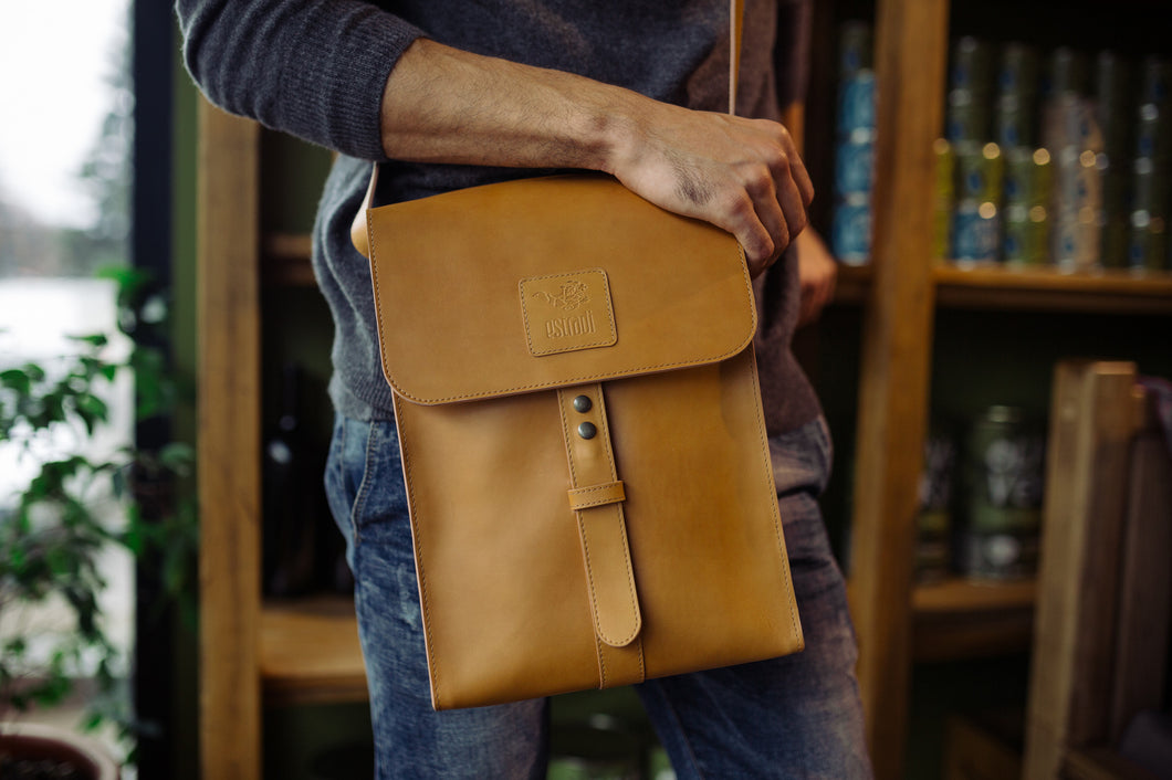 Vertical Cross-body Bag