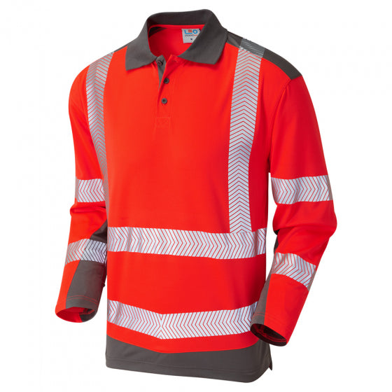 Peppercombe ISO 20471 Class 2 Coolviz Plus Polo Shirt