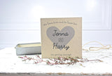 HEART FOLDED INVITATION