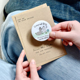 Alpaca Illustration Magnetic Save the Dates