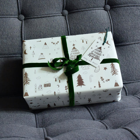 Winter Wonderland Christmas Wrapping Paper