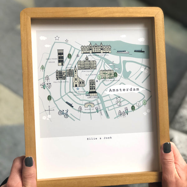 Bespoke Illustrated City/Village Map