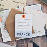 Travel Inspired Save the Date