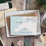 Wedding abroad wedding invitation - 'Venice'