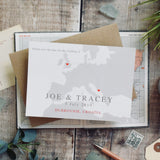 Jade - Map Save the date