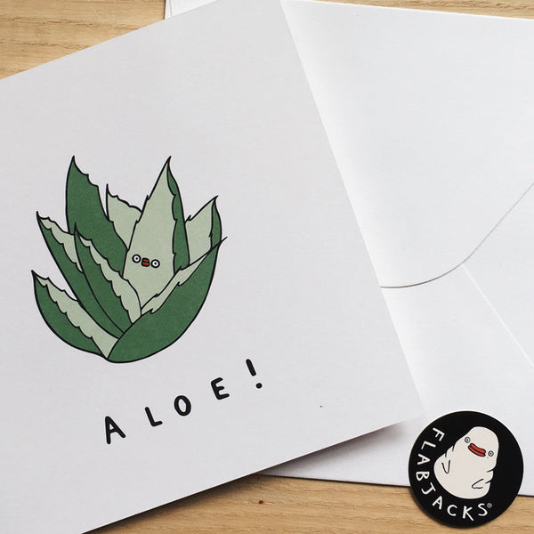 ALOE - GREETING CARD