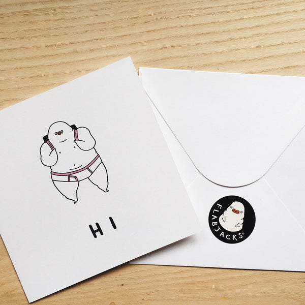 HI - GREETING CARD