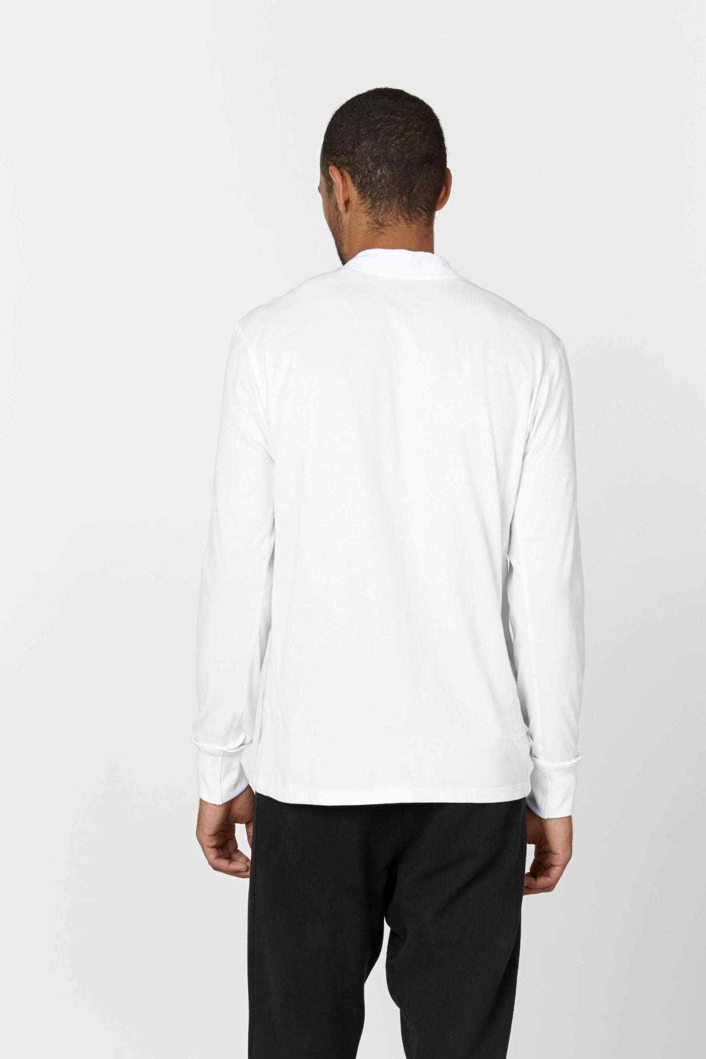 Product Shot of the The Henley in White