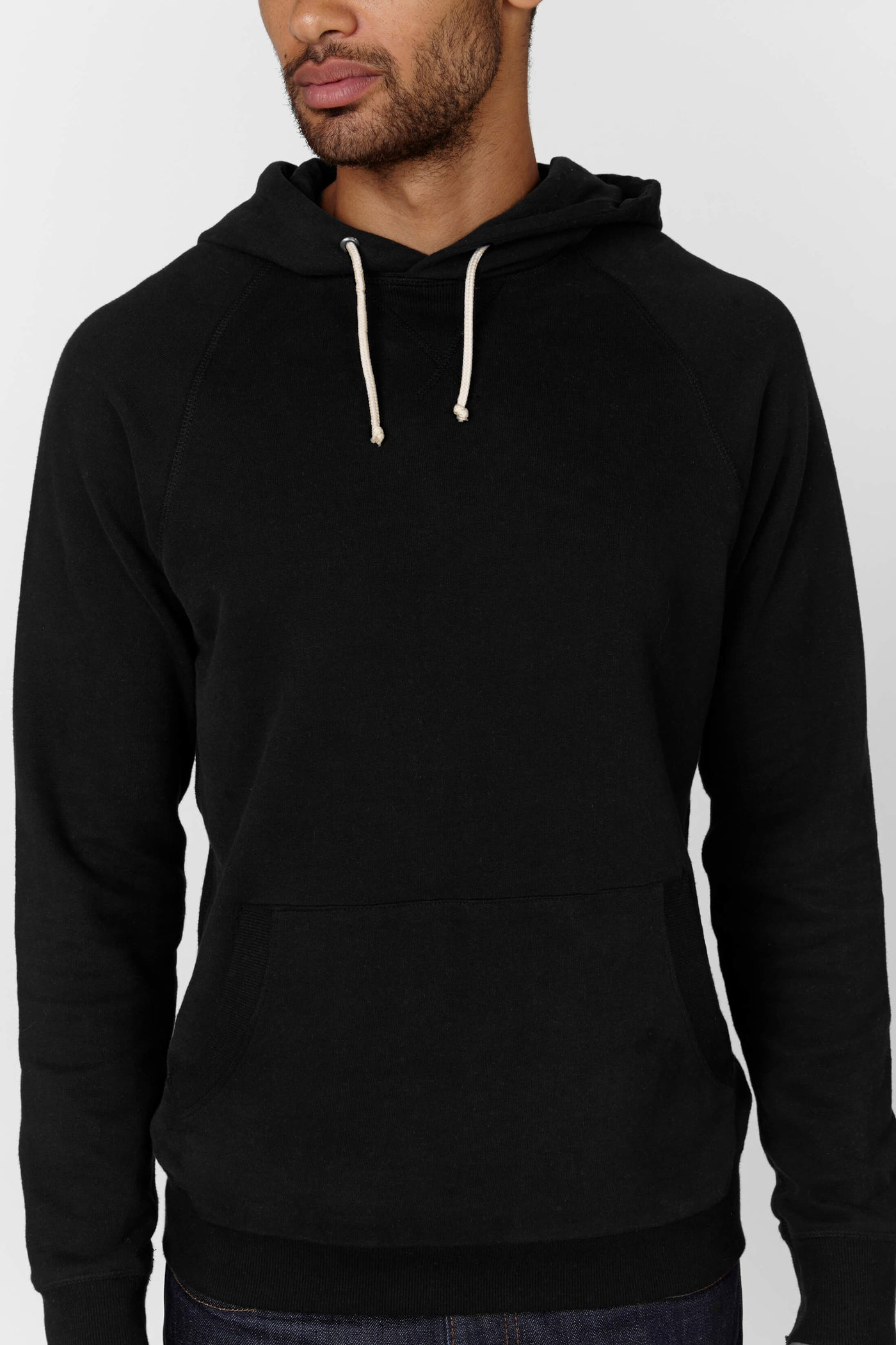 Product Shot of the The Hoodie in Black