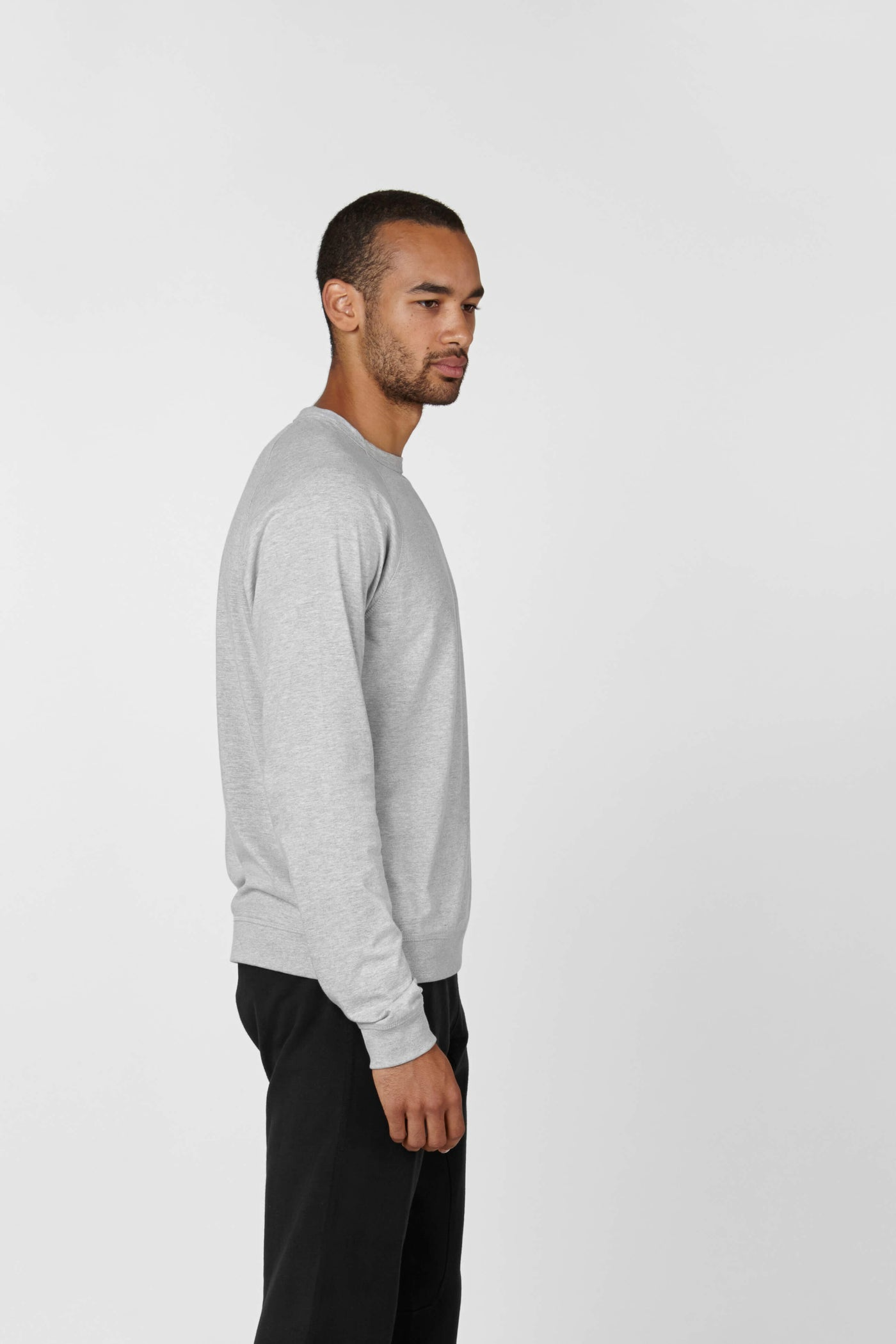 Product Shot of the The Longsleeve in Heather Grey