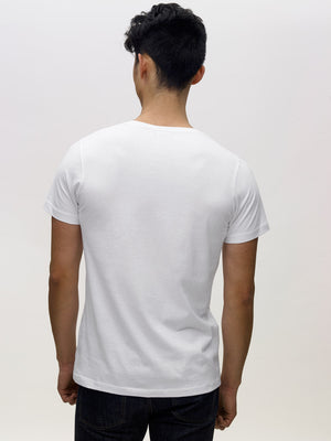 Thumbnail Image of the The V-Neck in White