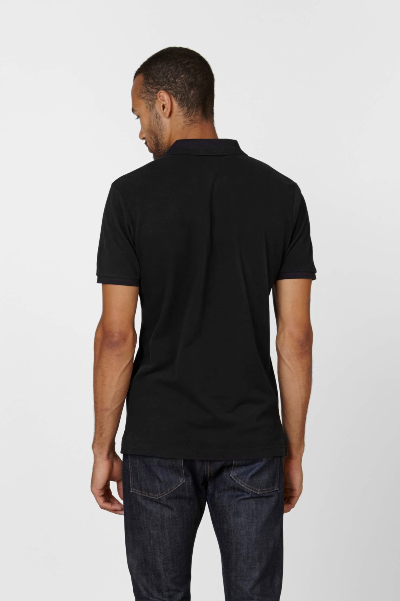 Product Shot of the The Polo in Black