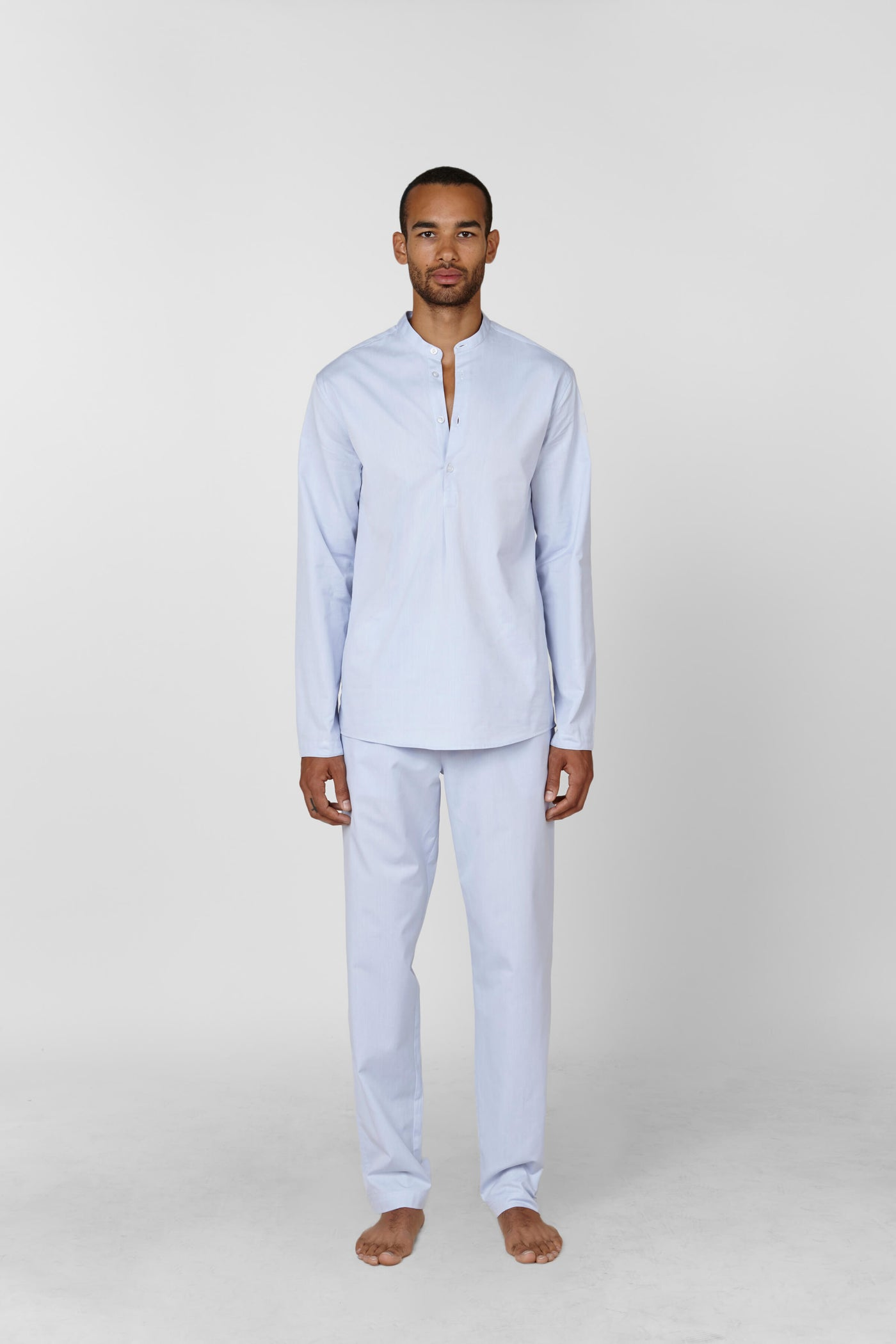 Product Shot of the The Pajama Set in Light Blue