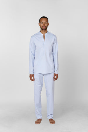 Thumbnail Image of the The Pajama Set in Light Blue