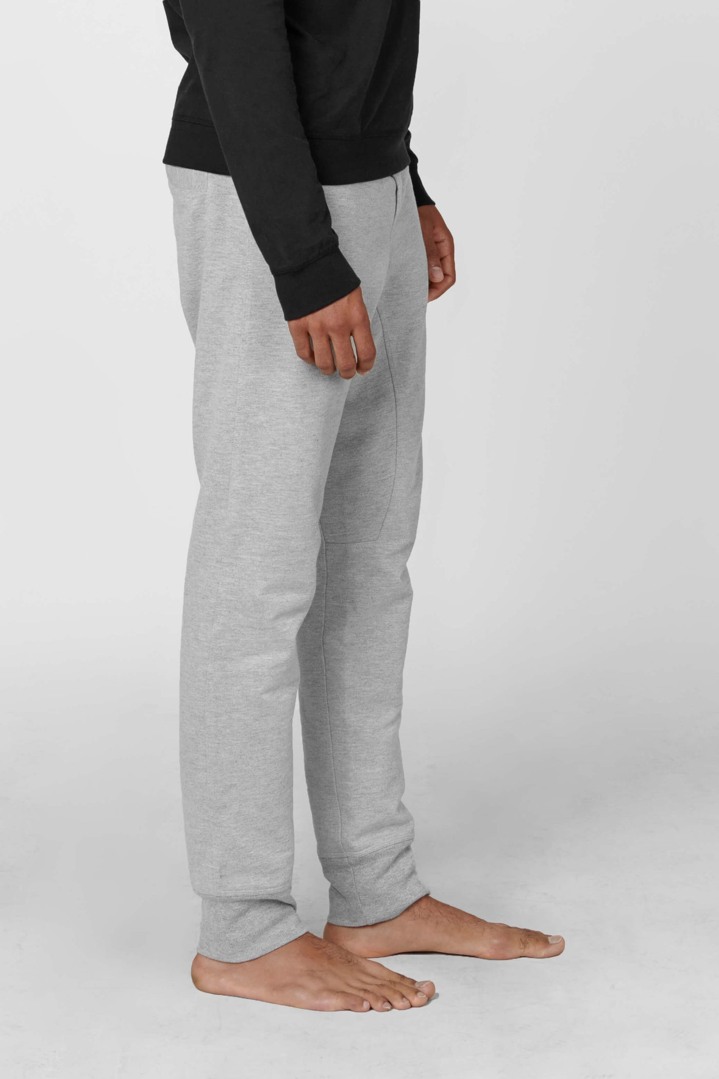 Product Shot of the The Sweatpants in Heather Grey