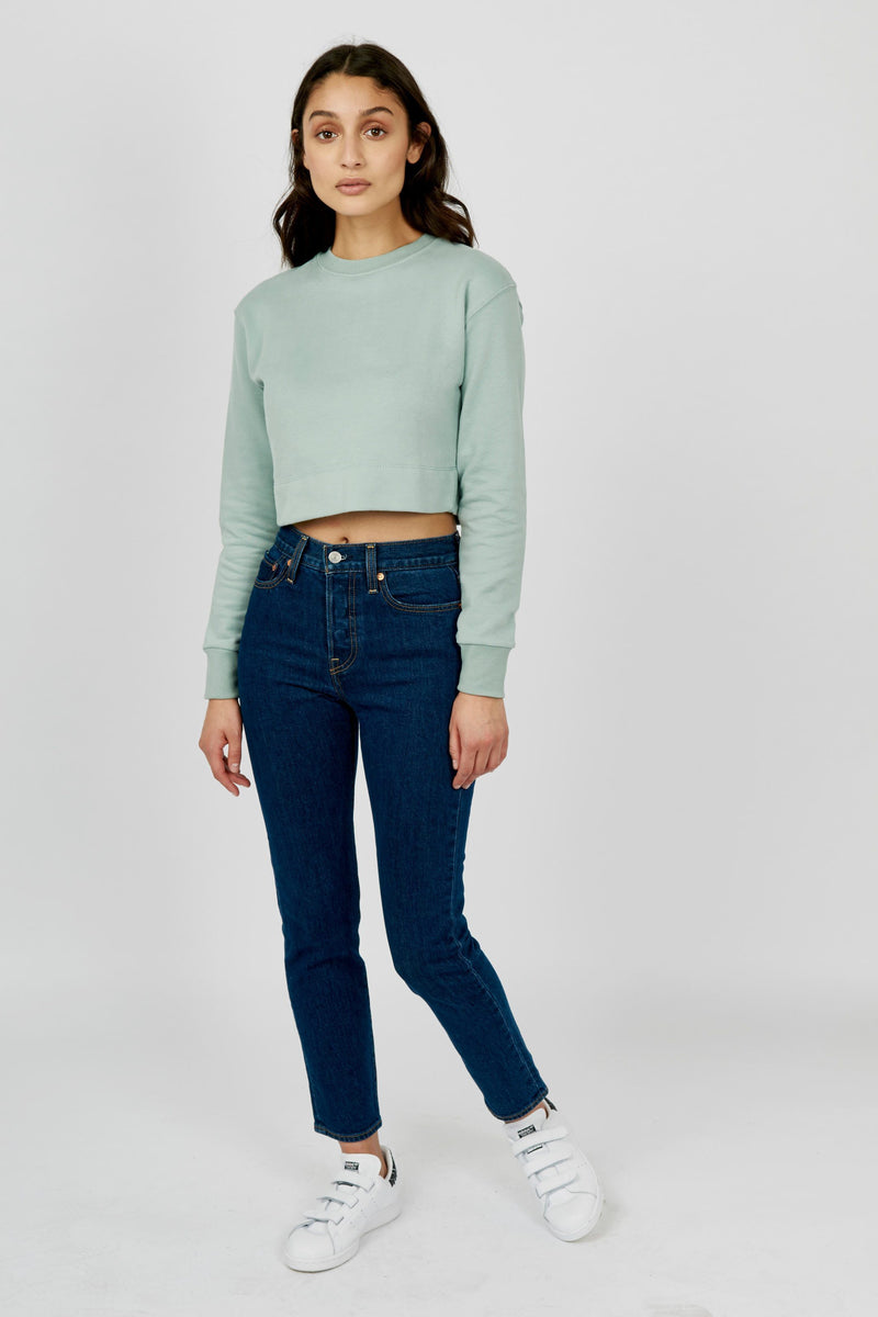 The Cropped Sweatshirt