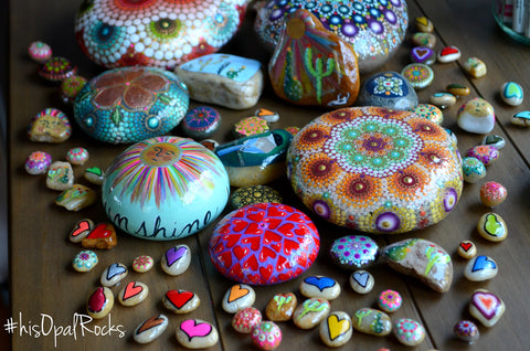 hisOpal Rocks with Art Resin