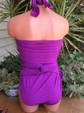 Extra Large Bathing Suit Light Purple Wrap Around Swimsuit Plus Size Swimwear One Wrap XL hisOpal - hisOpal Swimwear - 5