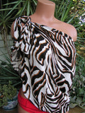 Sarong Beach Cover Up Zebra Animal Print Scarf Shawl Swimsuit Cover Up Tie On Shirt Wrap Skirt - hisOpal Swimwear - 4