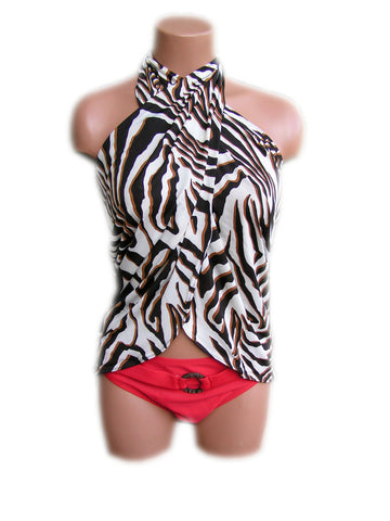 Sarong Beach Cover Up Zebra Animal Print Scarf Shawl Swimsuit Cover Up Tie On Shirt Wrap Skirt