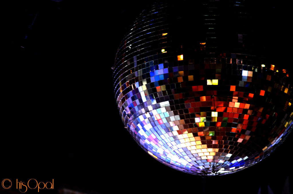 digital download disco ball photography: shakedown, 1979 - hisOpal Swimwear