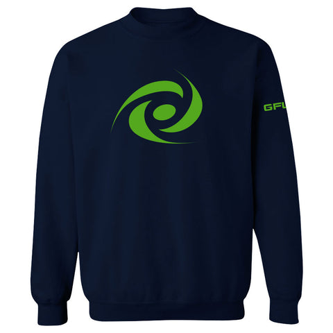 G FUEL Energy Crewneck - AGrn on Nvy